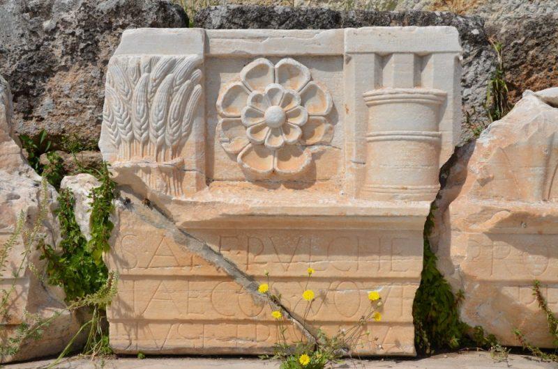 Ehemaliger Eingangsbereich von Eleusis, Foto: Carole Raddato, wikimedia gemeinfrei